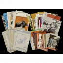 Large Lot of Instructions, Catalogues and Brochures