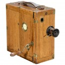 Ernemann-Aufnahme-Kino Model A Silent Movie Camera, c. 1908