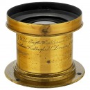 No. 5 Wide Angle Rectilinear 15 x 12 Lens by Fallowfield, c. 188