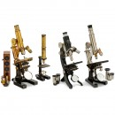 4 German Microscopes
