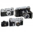 4 Cameras from the Soviet Union