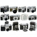 Giant Lot 35 mm Cameras