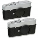2 x Leica MDa Twins with Consecutive Serial Numbers, 1971