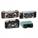 3 Stereo Cameras: Kodak, Realist and Viewmaster