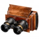 Hand Stereo Viewer 9 x 18, c. 1875