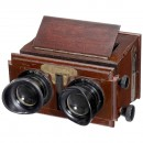 Planox Hand Stereo Viewer 45 x 107, c. 1925