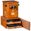 Early Taxiphote Table Stereo Viewer, c. 1900