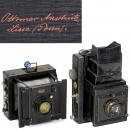Mentor Folding Reflex and Goerz-Anschütz Folding Camera
