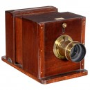 Wet-Plate Sliding Box Camera by Ross, c. 1858
