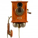 German Telephone by Mix & Genest, 1899