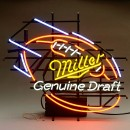 Miller Genuine Draft Neon Beer Sign
