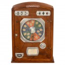 French Le Poker d'As Roulette Gambling Machine, c. 1940