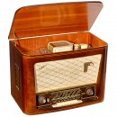 Tefifon Radio Receiver with Sound Tape Player, 1956