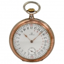 Omega 24-Hour Compass Pair-Cased Pocket Watch, c. 1927