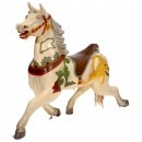 Carved and Painted Carousel Horse, c. 1925