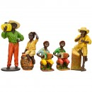 5 Decorative or Window Display Figures