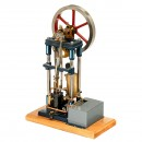 Vertical Steam Motor with Water Pump