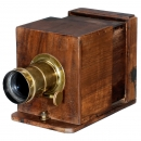Wet-Plate Sliding Box Camera with Jamin and Darlot Lens, c. 1864