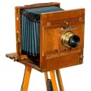 Globus Camera 18 x 24 cm by Herbst & Firl, c. 1897