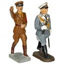 2 Composition Third Reich Personality Figures, c. 1938