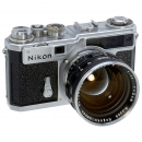 Nikon SP with Nikkor-N.C 1,1/5 cm, 1956 and 1958