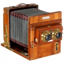Stereo Field Camera from Germany, 1900