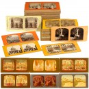 100 French-Tissue Stereo Cards of 9 x 18 cm