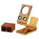 Small Graphoscope and Hand-Held Stereo Viewer