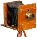 German Field Camera 13 x 18 cm, c. 1900