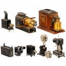 Laterna Magicas and Movie Projectors (Spare Parts)
