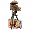 Tin Toy Projector with Durotone Gramophone