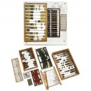 Collection of 11 Abacus