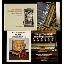 4 Books on Mechanical Music Instruments