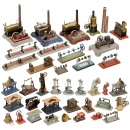 Steam Engines, Steam Toys and Transmissions, 1930 onwards