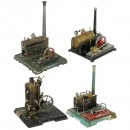 4 Large Steam Engines, for Hobbyists