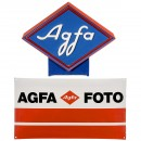 2 Agfa Advertising Signs
