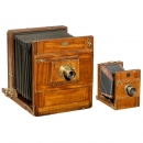 2 Field Cameras (13 x 18 cm and 24 x 30 cm)