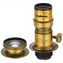 2 Brass Lenses by Dallmeyer, London