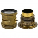 2 Early Brass Lenses by Ross, London