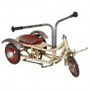 French Cycle Etoile Rowing Tricycle, c. 1940