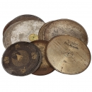 Group of Rare Musical Box Discs, c. 1900