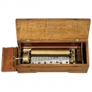Key-Wind Forte-Piano Musical Box by Ducommun-Girod, c. 1845