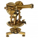 French Brass Theodolite by Laderrière, c. 1890