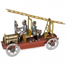Fire-Ladder Truck Penny Toy by Meier, c. 1915