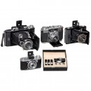 Lot of Zeiss Ikon Cameras