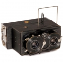 Reichert Stereo Camera 6 x 13, c. 1909