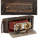 Voigtländer Stereo-Panorama Camera for Rollfilm 6 x 13, 1905