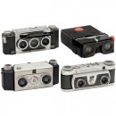 3 Stereo Cameras by White, Wray and Delta