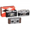 Three 35mm Stereo Cameras