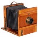 Globus Field Camera 18 x 24 by Herbst & Firl, c. 1897